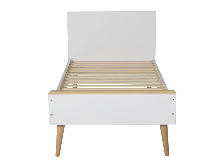 54F01 01XL004 Quax Cocoon ombouwbed 70x140 Ice White peuterbed voeteneind