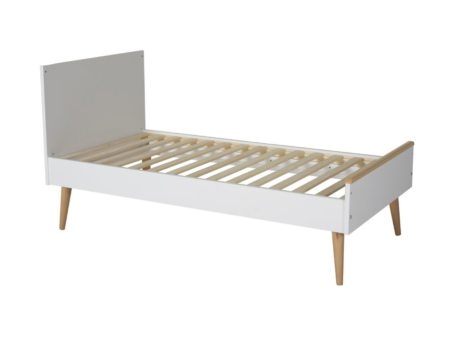 54F01 01XL004 Quax Cocoon ombouwbed 70x140 Ice White peuterbed