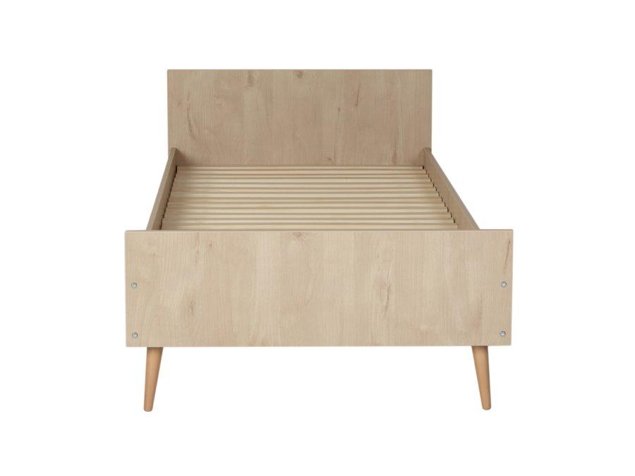 54F01 01XXL003 Quax Cocoon bed 90x200 Natural Oak voetenbord