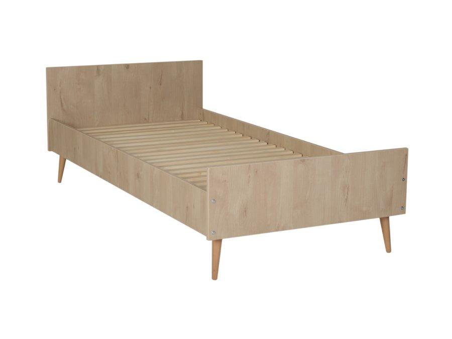 54F01 01XXL003 Quax Cocoon bed 90x200 Natural Oak
