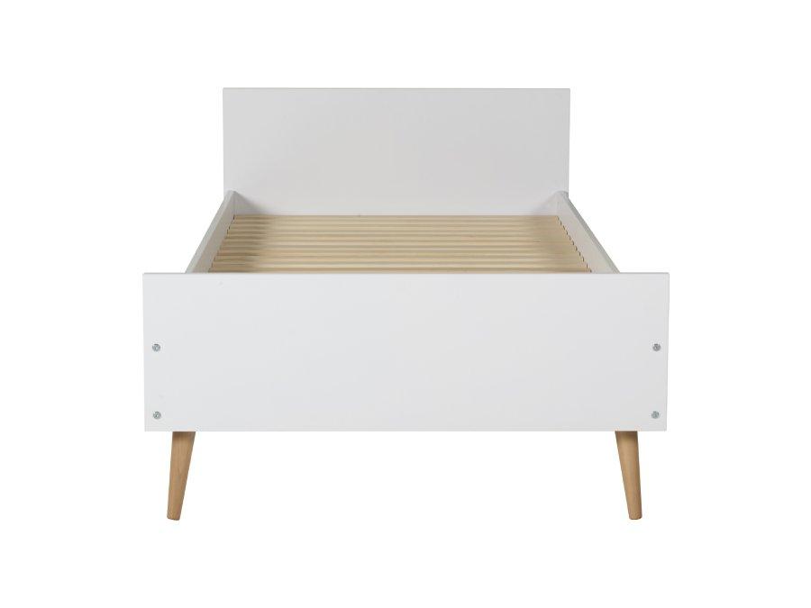 54F01 01XXL004 Quax Cocoon bed 90x200 Ice White voetenbord