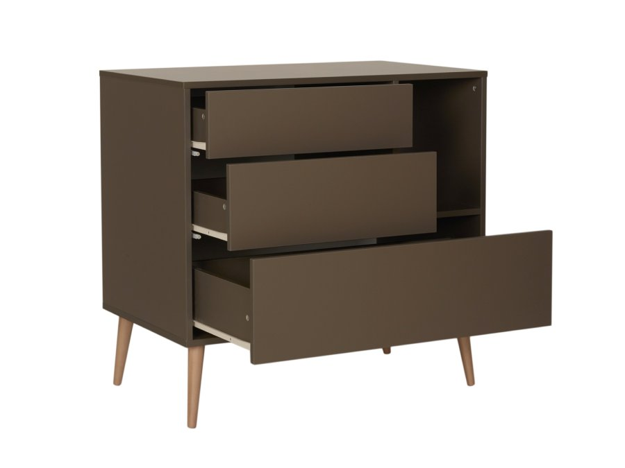 54F01 03001 Quax Cocoon commode Moss open