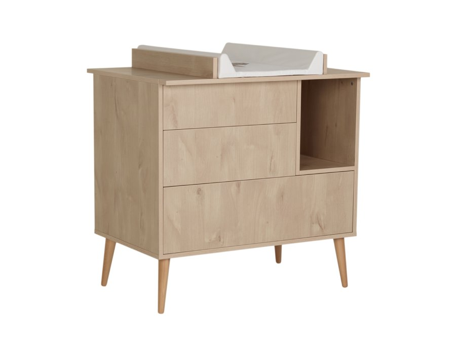 54F01 03003 Quax Cocoon commode Natural Oak bladvergroter