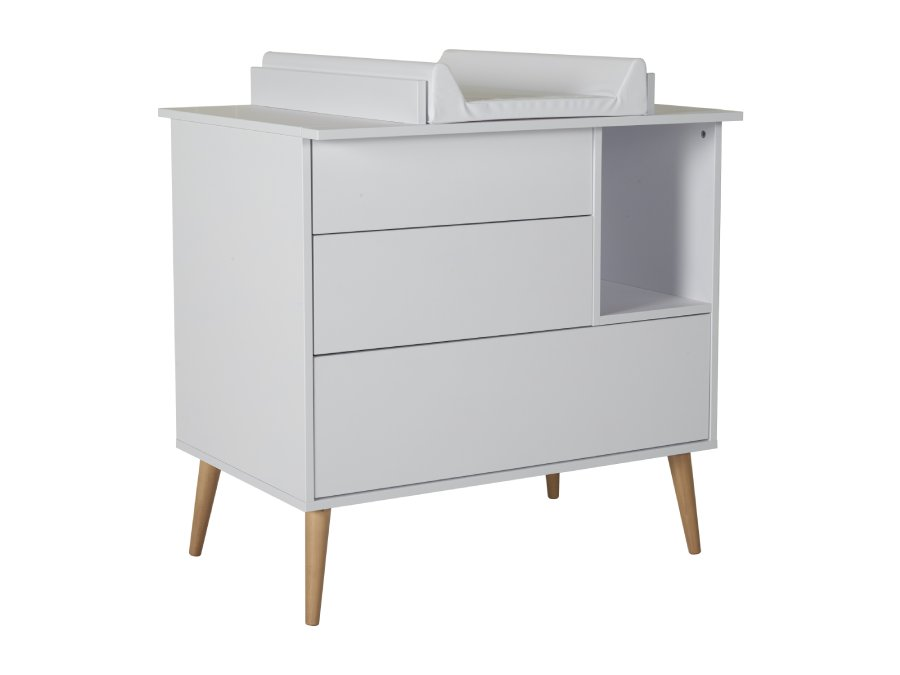 54F01 03004 Quax Cocoon commode Ice White bladvergroter