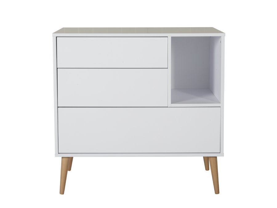 54F01 03004 Quax Cocoon commode Ice White