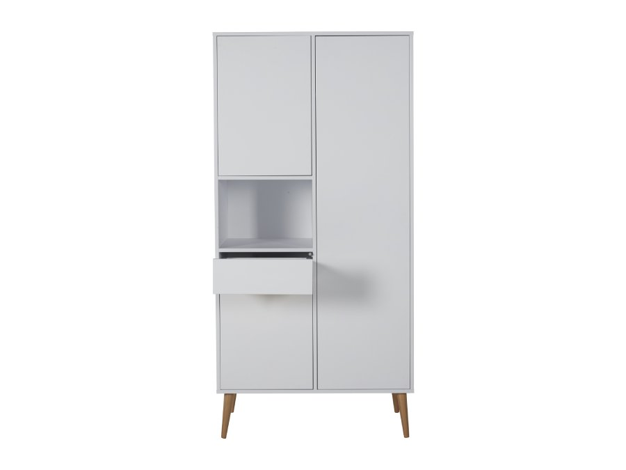 54F01 04004 Quax Cocoon kledingkast Ice White lade