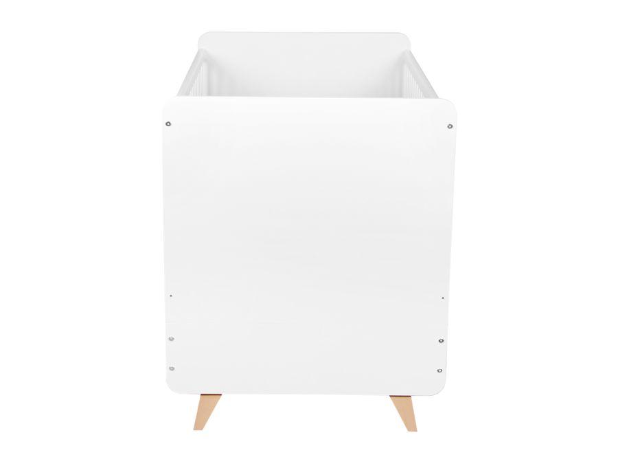 54F01003XL quax loft ombouwbed 70x140 wit hoofdbord