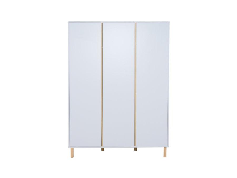 54F03 04003XL Quax Mono 3 deurs kledingkast wit