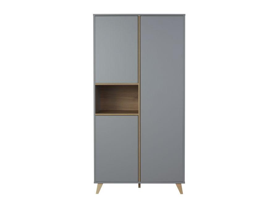 54F04001 quax loft kledingkast grijs