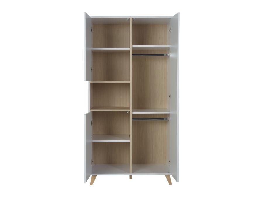 54F04003 quax loft kledingkast wit open