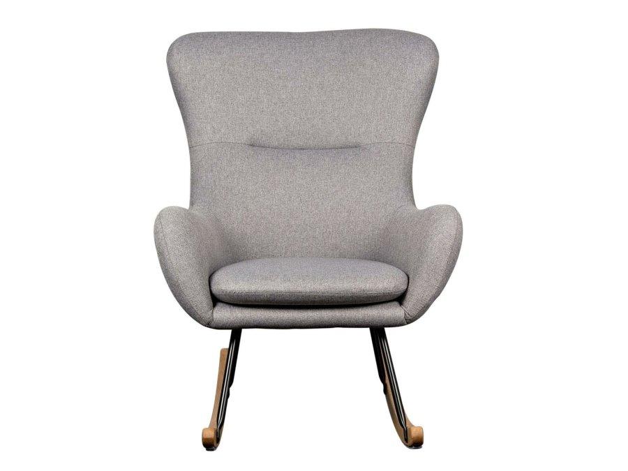 76 16 CM WG Quax Rocking schommelstoel adult basic dark grey voorkant