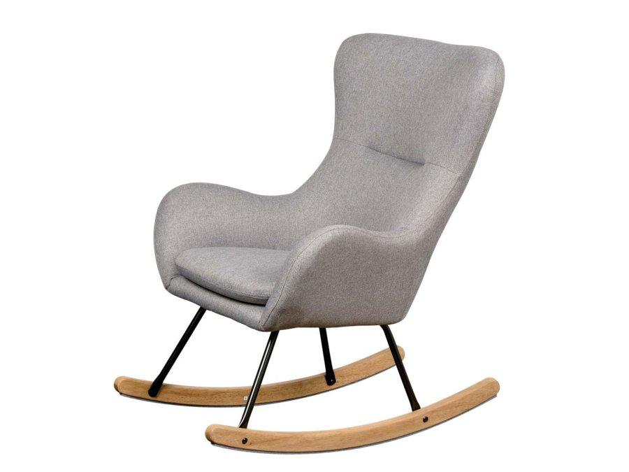 76 16 CM WG Quax Rocking schommelstoel adult basic dark grey zijkant