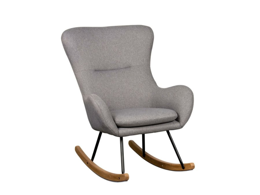 76 16 CM WG Quax Rocking schommelstoel adult basic dark grey