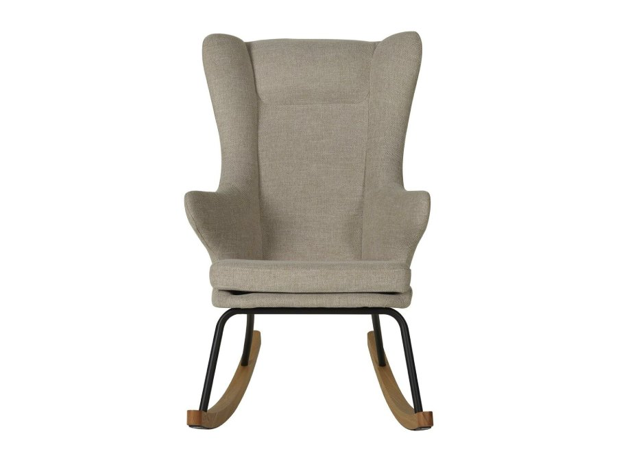 76 16 J1817 07 Quax Rocking schommelstoel adult deluxe clay voorkant