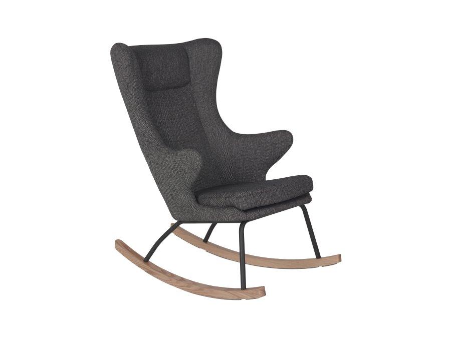 76 16 J1817 BL Quax Rocking schommelstoel adult deluxe black