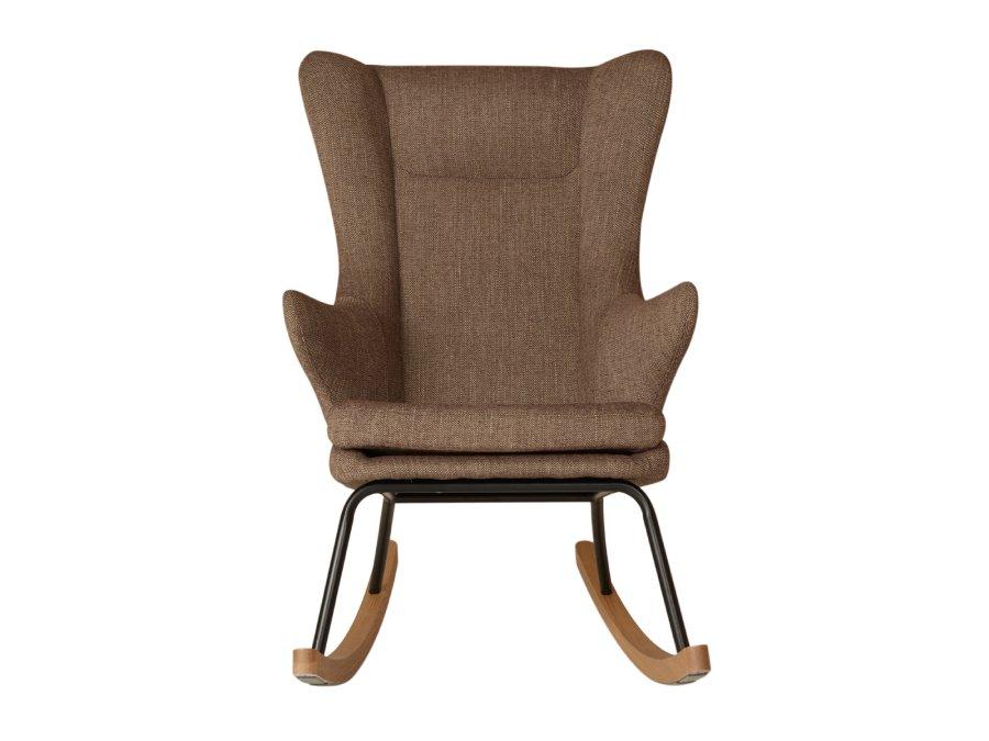 76 16 J1817 LT Quax Rocking schommelstoel adult deluxe latte voorkant
