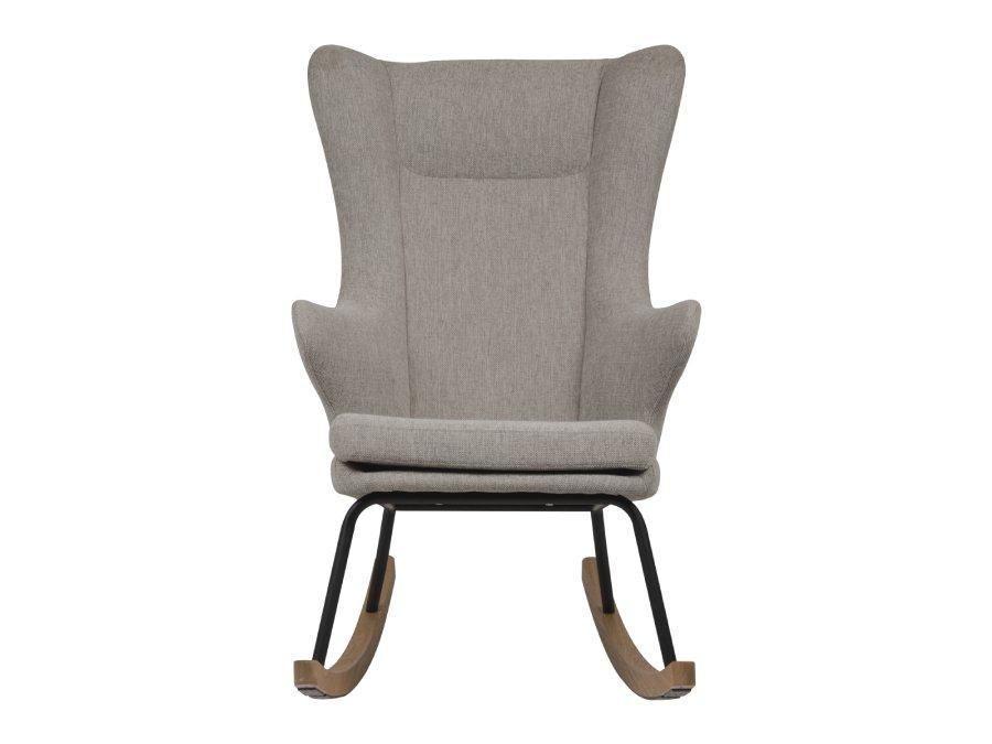 76 16 J1817 SA Quax Rocking schommelstoel adult deluxe sand grey voorkant