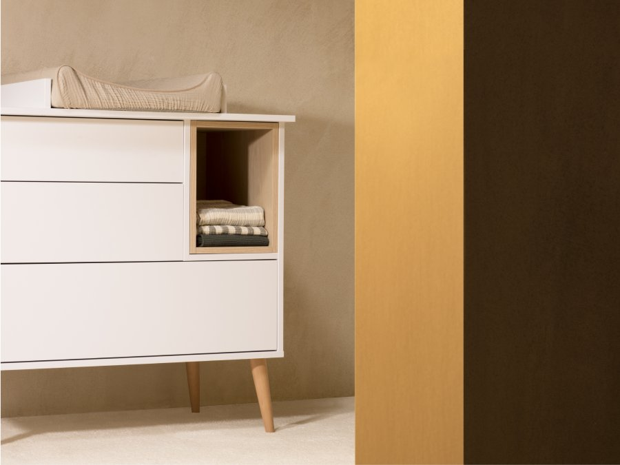 Quax Cocoon ice white commode