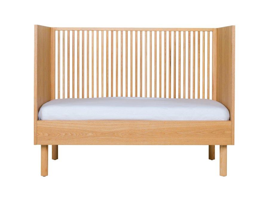 Quax Hai No Ki ledikant 60x120 Natural Ash bedbank