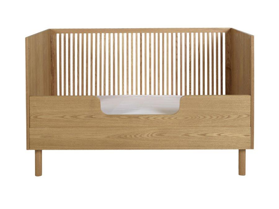 Quax Hai No Ki ombouw bedbank 70x140 Natural Ash bedrail