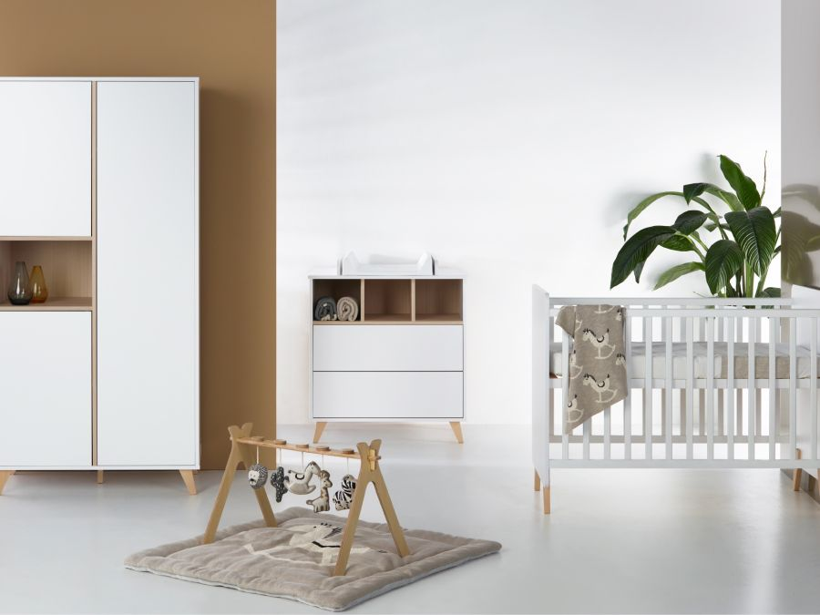 Quax loft babykamer wit