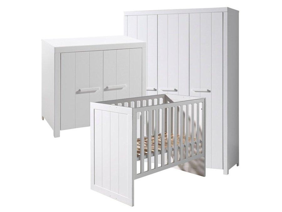 Vipack Erik babykamer 3 deurskast