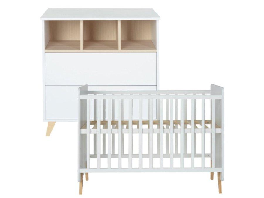 quax loft white babykamer 2 delig