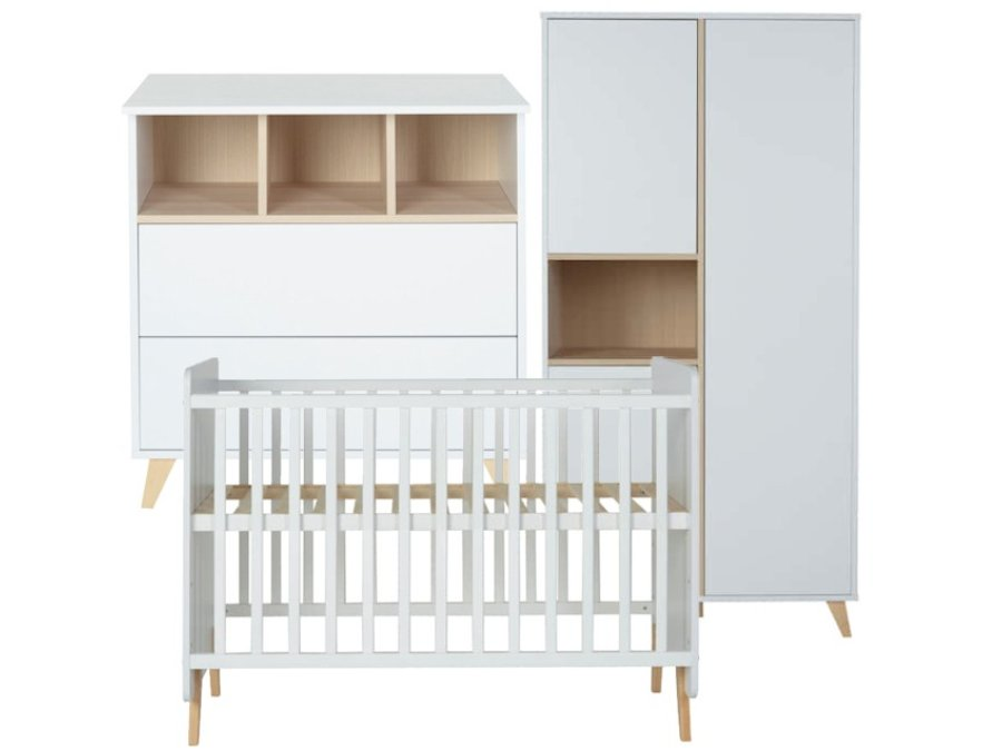 quax loft white babykamer 3 delig