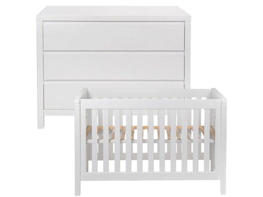 quax stripes white babykamer 2 delig
