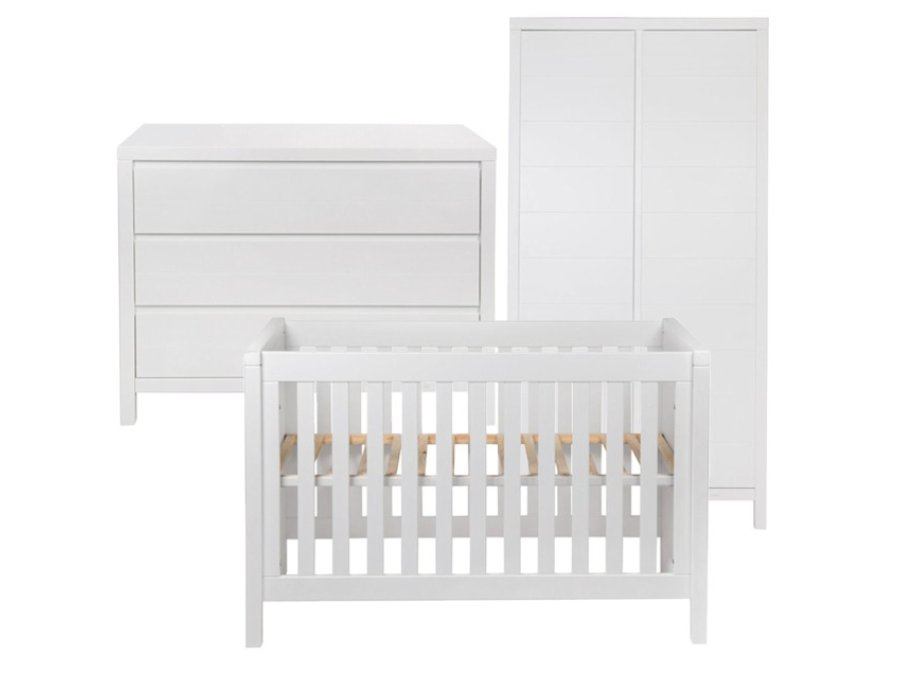 quax stripes white babykamer 3 delig