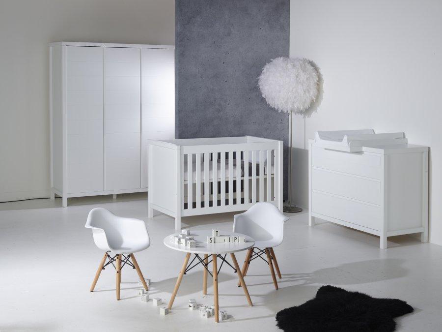 quax stripes white babykamer